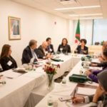Meeting with Algerian associations