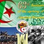 Algerian Revolution November 1954 Celebration