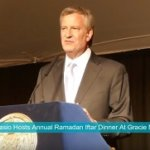 Annual Ramadan Iftar dinner at Gracie Mansion on May 29th, 2018