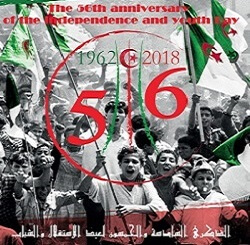 Algeria's Independence and Youth Day , July 5th