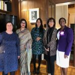 Meeting over gender equality  at the occasion of the International Women's Day