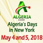 Algeria's Days in New York on May 4 and 5, 201