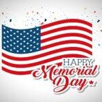 Happy Memorial Day- May 27