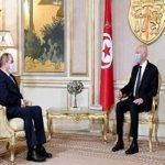 Boukadoum meets with President Kaïs Saïed in Tunis
