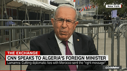 Algeria's Foreign Minister Ramtane Lamamra Interview with CNN