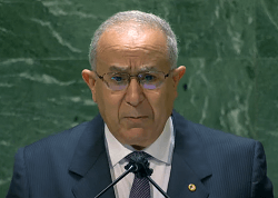 Speech of The Minister of Foreign Affairs and National Community Abroad, Ramtane Lamamra at The UN 76th session.