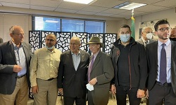 Lamamra meets in New York with members of the Algerian community